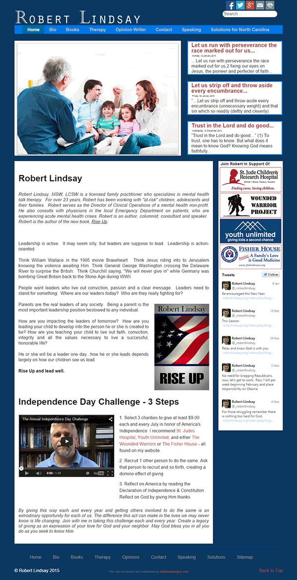 RobertLindsay.org Website image
